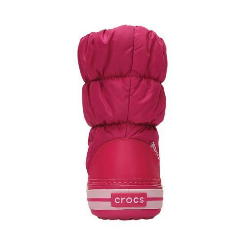 Shop Children s Crocs Winter Puff Boot Candy Pink - Free Shipping On ... cbad8f42d0b