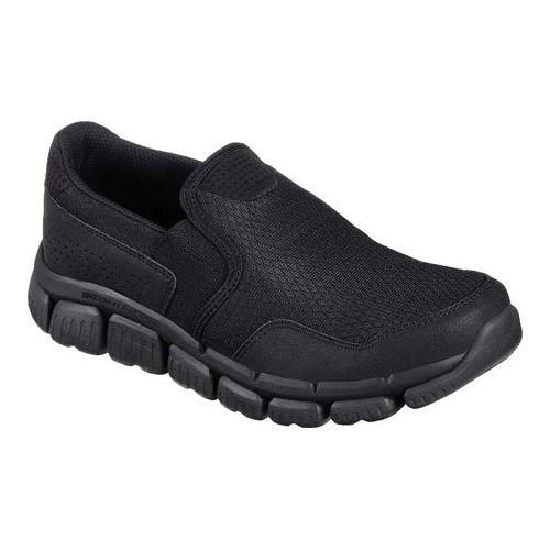 ee0a963ce810 Boys  Skechers Skech-Flex 2.0 Wentland Slip-On Sneaker Black Black - Free  Shipping Today - Overstock - 24218125