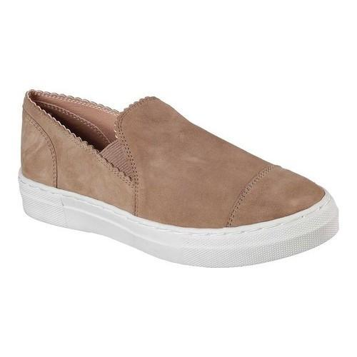 7bff9692f92a Shop Women s Skechers Vapor Hazy Slip-On Sneaker Mushroom - Free Shipping  Today - Overstock - 18054028