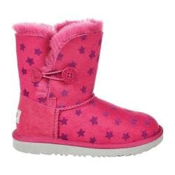 d69a39cc2f9 Children's UGG Bailey II Button Stars Ankle Boot Brambleberry Twinface |  Overstock.com Shopping - The Best Deals on Boots