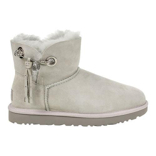 a46f88727cf Women's UGG Josey Bootie Grey Violet Twinface