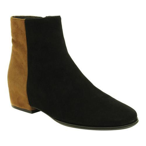 91c1d3b946530 Shop Women's VANELi Glynis Ankle Boot Black Suede/Tobacco Suede - Free  Shipping Today - Overstock - 18054072
