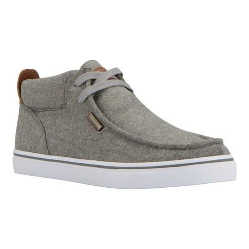 Men's Lugz Strider Chambray Charcoal/Hickory/White Canvas