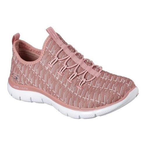eceab696997a Shop Women s Skechers Flex Appeal 2.0 Insights Walking Sneaker Rose - Free  Shipping Today - Overstock - 18060530