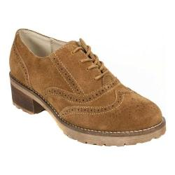 Women's White Mountain Arlow Oxford New Chestnut Suede