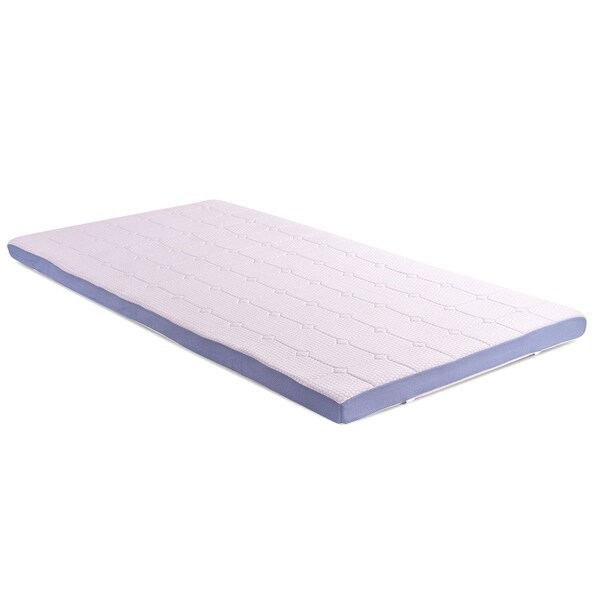 Shop Cr Twin Xl Size 3 Inch Memory Foam Mattress Topper With Soft