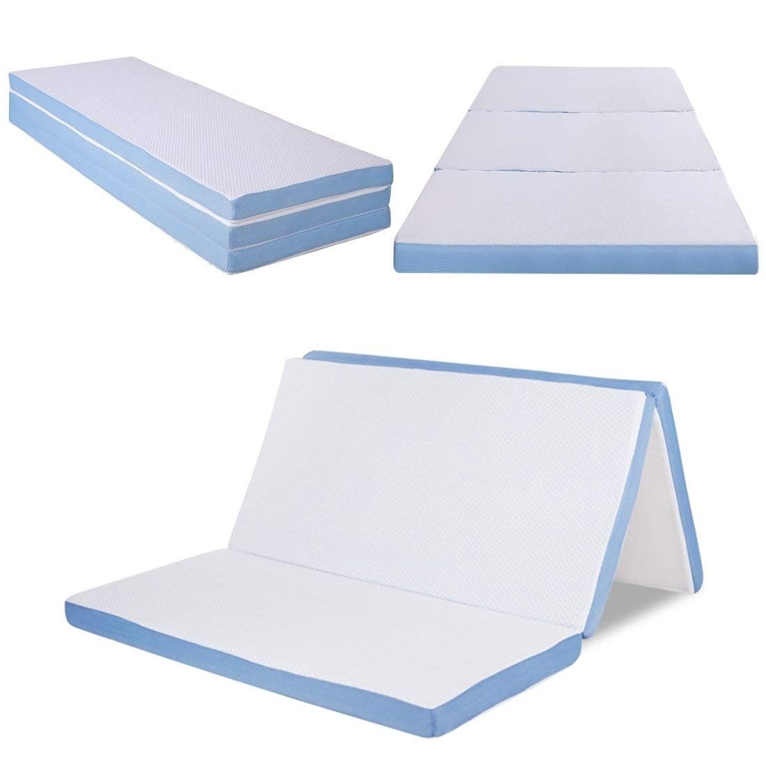 Full Size Folding Portable Memory Foam