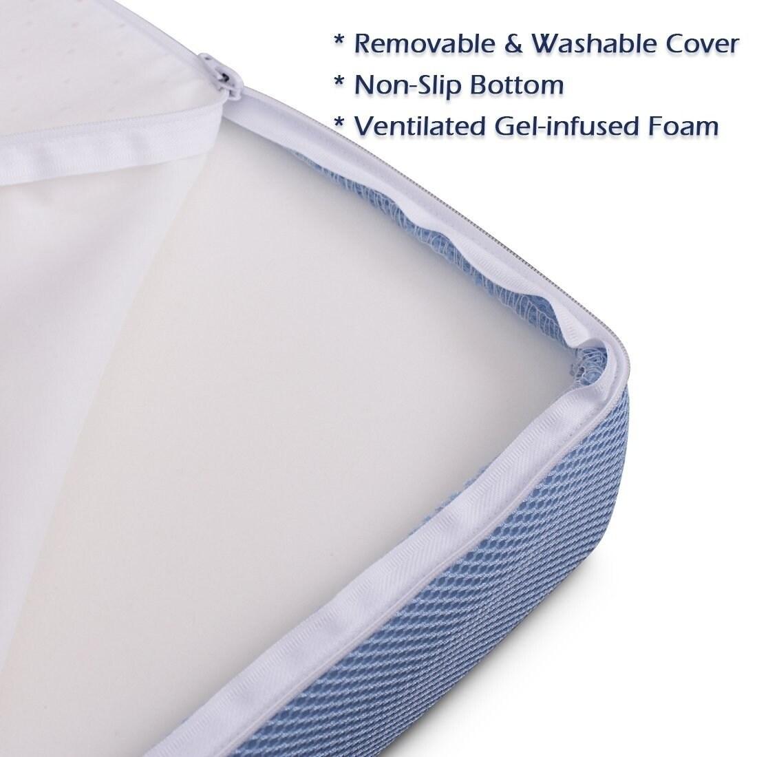 Cr Sleep 3 Inch Twin Size Tri Folding Memory Foam Mattress With