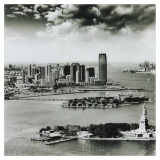 "Empire Art ""New York Skyline A"" Frameless Free Floating Tempered Art Glass by EAD Art Coop"
