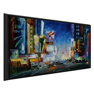Broadway ' by Leonid Afremov Framed Oil Painting Print on Canvas