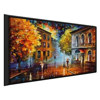 Etude In Red ' by Leonid Afremov Framed Oil Painting Print on Canvas