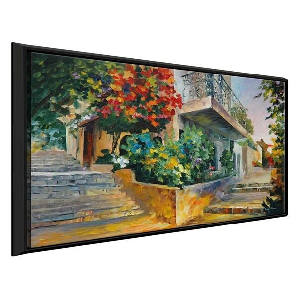 Jerusalem - Garden On The Stones ' by Leonid Afremov Framed Oil Painting Print on Canvas