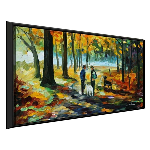 Couples ' by Leonid Afremov Framed Oil Painting Print on Canvas