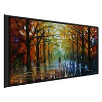Fall Date ' by Leonid Afremov Framed Oil Painting Print on Canvas