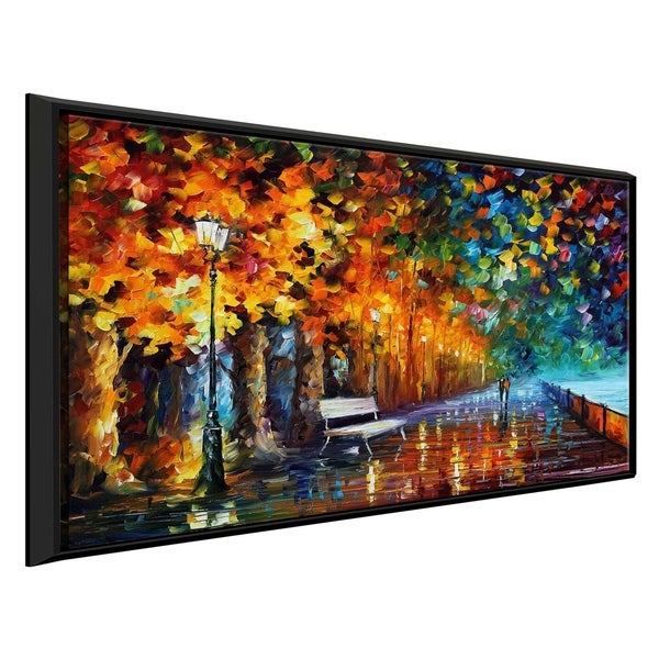 Way To Home 2 ' by Leonid Afremov Framed Oil Painting Print on Canvas