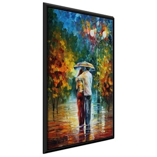 Invitation 1 ' by Leonid Afremov Framed Oil Painting Print on Canvas