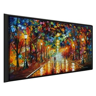 Farewell To Anger ' by Leonid Afremov Framed Oil Painting Print on Canvas