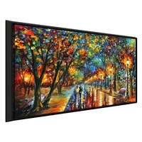 When The Dreams Came True ' by Leonid Afremov Framed Oil Painting Print on Canvas