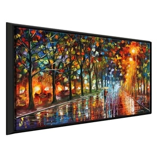 Unreal Senses By Leonid Afremov Framed Oil Painting Print On Canvas Overstock 20503914