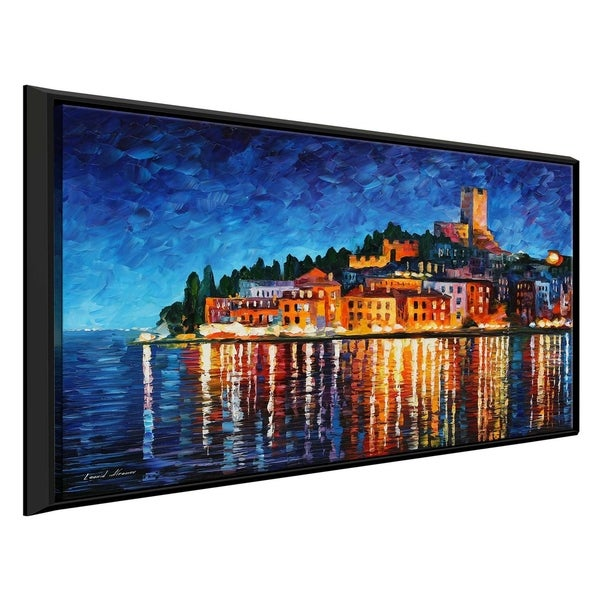 Shop Italy, Verona \' by Leonid Afremov Framed Oil Painting Print on ...