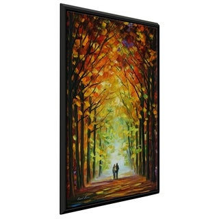 Altar Of Trees ' by Leonid Afremov Framed Oil Painting Print on Canvas