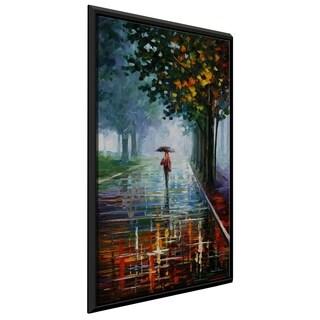 Morning Full Of Life ' by Leonid Afremov Framed Oil Painting Print on Canvas