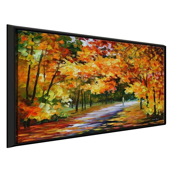 The Path Of Sun Beams ' by Leonid Afremov Framed Oil Painting Print on Canvas