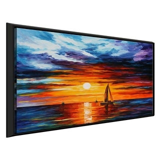 Touch Of Horizon ' by Leonid Afremov Framed Oil Painting Print on Canvas