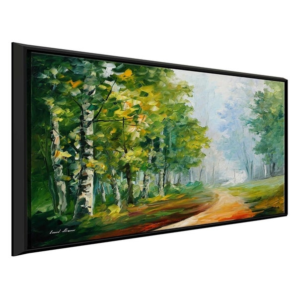 Summer Forest ' by Leonid Afremov Framed Oil Painting Print on Canvas