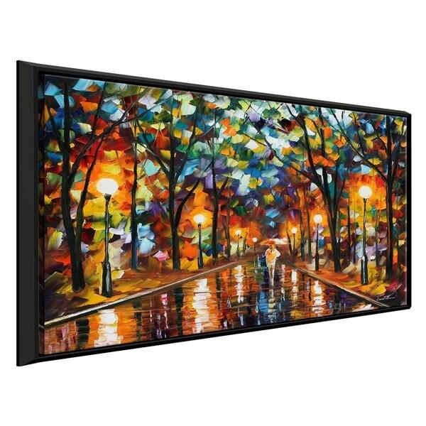 Spectrum Of Feelings ' by Leonid Afremov Framed Oil Painting Print on Canvas