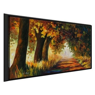 Under The Arch Of Autumn ' by Leonid Afremov Framed Oil Painting Print on Canvas