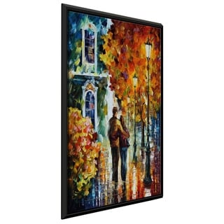 After The Date ' by Leonid Afremov Framed Oil Painting Print on Canvas