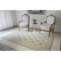 "Erin Gates by Momeni Thompson Brookline Gold Hand Woven Wool Area Rug 5' X 7'6"" - 5' x 7'6"""