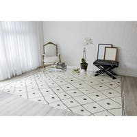 "Erin Gates by Momeni Thompson Appleton Hand-woven Wool Area Rug - 7'6"" x 9'6"""