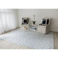 "Erin Gates by Momeni Langdon Prince Hand-woven Wool Area Rug - 8'6"" X 11'6"""