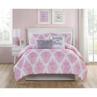 VCNY Home Love the Little Things Reversible Comforter Set (2 options available)