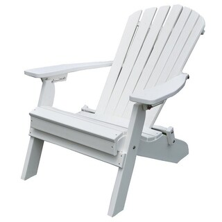 Poly Folding and Reclining Fanback Adirondack Chair (More options available)