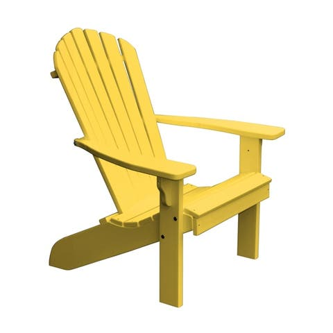 Fan Back Adirondack Chair in Poly Lumber