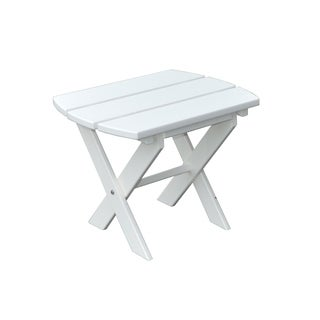 Poly Folding End Table
