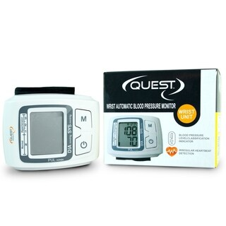 Blood Pressure Monitor Wrist Cuff By Quest
