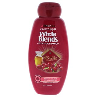 Garnier Whole Blends Argan Oil & Cranberry Extracts 22-ounce Color Care Shampoo