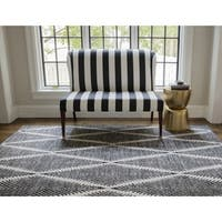 Erin Gates by Momeni River Beacon Indoor Outdoor Hand-woven Area Rug (7'6 x 9'6)