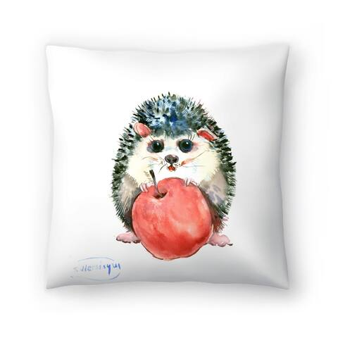 Americanflat 'Baby Hedgehog' Throw Pillow