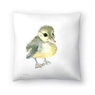Americanflat 'Baby Duck' Throw Pillow