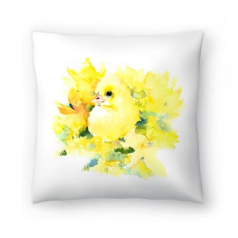 Americanflat 'Baby Duck 2' Throw Pillow