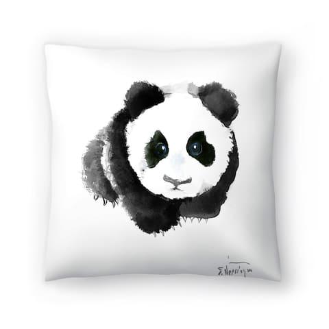 Americanflat 'Baby Panda' Throw Pillow