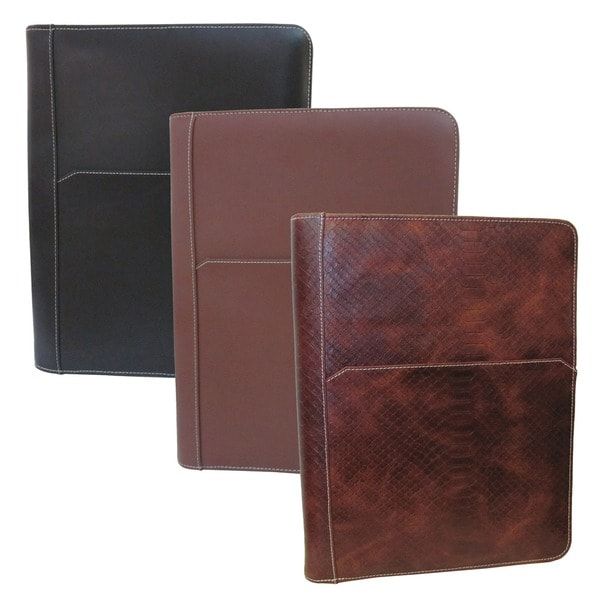 Amerileather Leather Zip Writing Portfolio Cover. Opens flyout.