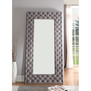 Emerald Home Lacey silver gray dressing mirror B132-26-03 - Grey