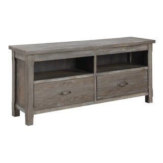Emerald Home Paladin Rustic Charcoal Gray entertainment center E350