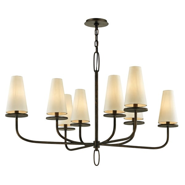 Troy Lighting Marcel 29-inch Pompeii Bronze Chandelier